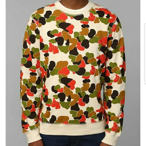Urban Outfitters Other - Urban Outfitters Character Hero Camo Sweater